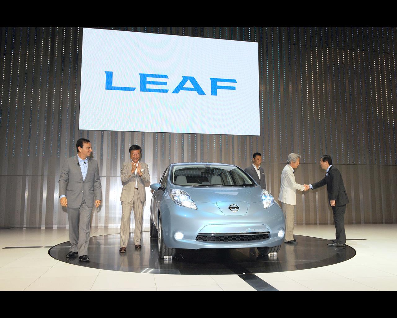 Nissan Leaf phase1 exterieur 1