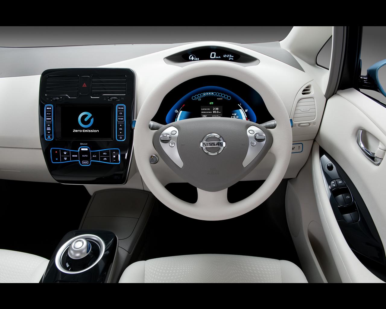 Nissan Leaf phase1 exterieur 2