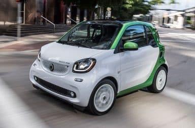 Smart Fortwo exterieur blanc vert