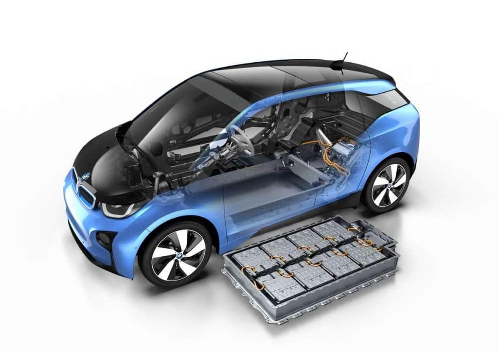 Batterie bmw i3 baisse du prix voiture électrique