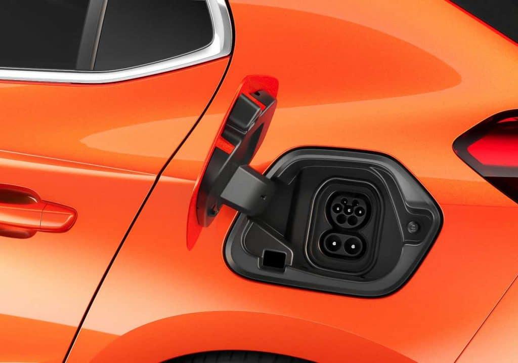 Opel Corsa e prise combo CCS
