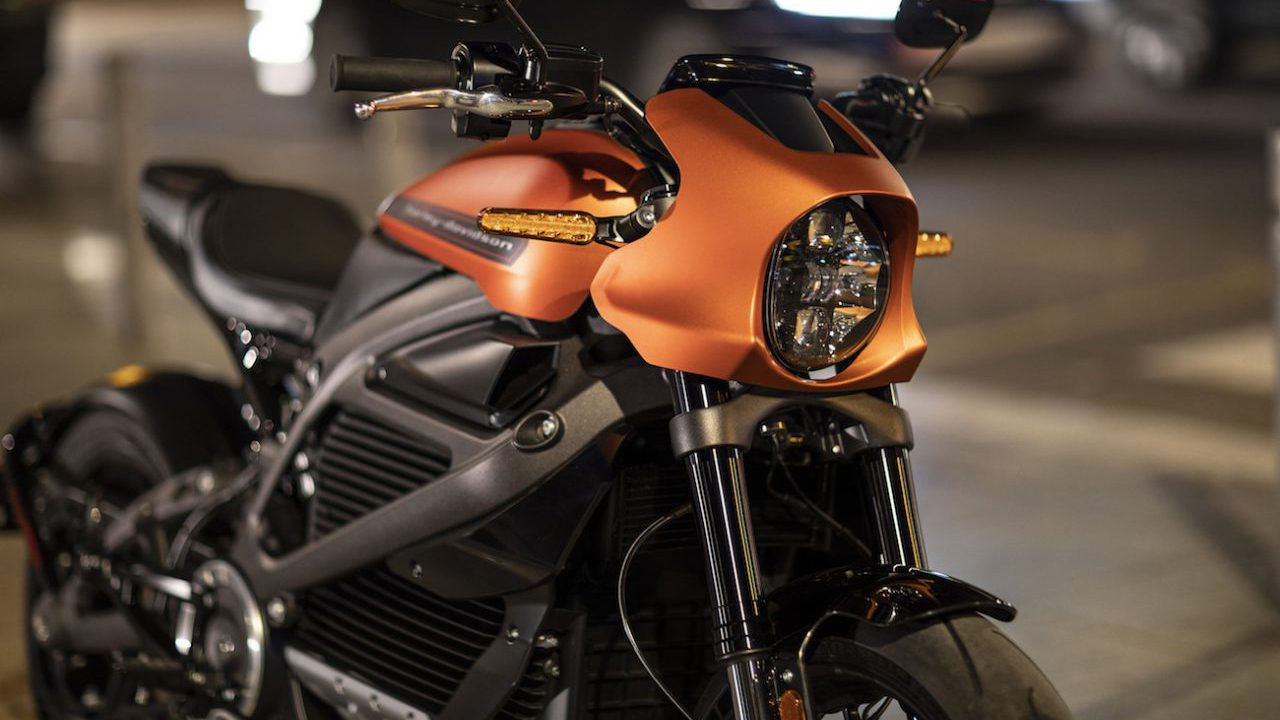 Harley Davidson electrique