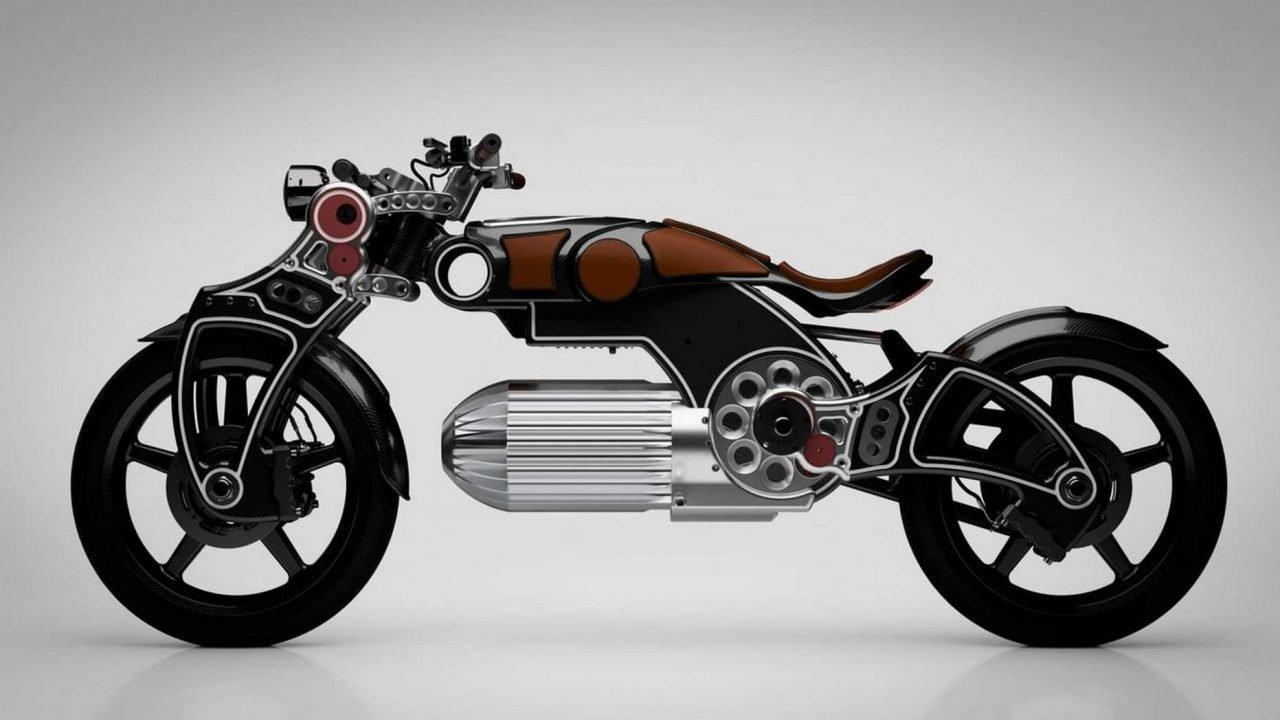 une moto électrique