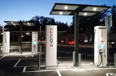 Ionity station de recharge