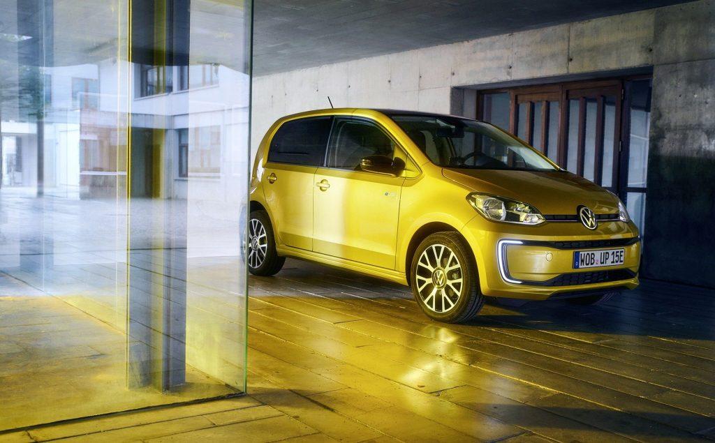 modele voiture electrique 2020 - e-up